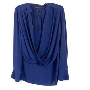 BCBG high low blouse